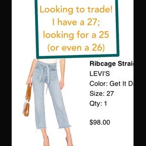 Levi's Ribcage Straight Ankle (Get It Done)